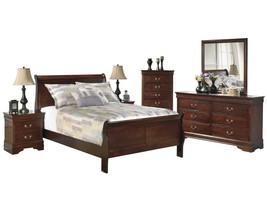 Ashley Alisdair 6PC Bedroom Set Cal King Sleigh Bed - Brown - $2,160.19