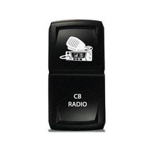 CH4x4 Rocker Switch V2 CB Radio Symbol - Blue LED - $16.44