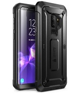 SUPCASE Galaxy S9 Plus UNICORN Beetle Pro Case WITH Screen Protector Black - $13.99