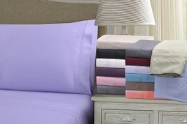 Twin Executive 3000 Series Embroidery Clouds Microfiber Sheet Set - $32.15