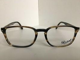 New Persol 3161-V 1049 Havana 52mm Rx Men's Eyeglasses Frame  - $159.99