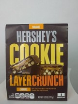 Hershey's cookie layer crunch caramel 9 wrapped bars - $8.38