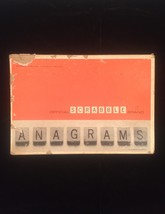 Vintage 1964 Scrabble Anagrams game- complete set