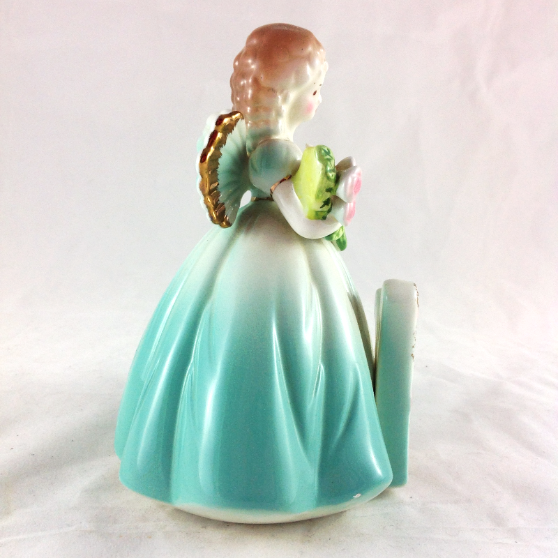 Josef Originals Vintage Birthday Girl Sweet Sixteen Angel Figurine