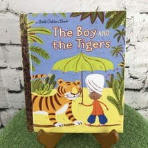 The Boy And The Tigers Little Golden Book LGB  - $3.22