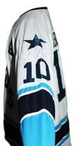 Any Name Number Houston Aeros Retro Hockey Jersey White Labossiere #10 Any Size image 4