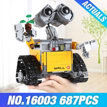 2018 New WALL E WALL-E Ideas Building Bricks Block Model Toy Gift Disney... - $48.44
