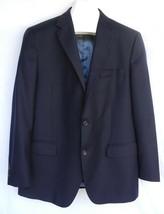 Peter Millar Presidents Cup Sport Coat Golf Blazer Navy Blue 2 Button Wool - $98.99