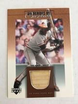 2001 Upper Deck Heroes of Baseball Eddie Murray #B-EM Game Used Card Ori... - $9.99