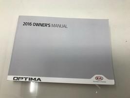 2016 Kia Optima Sedan Owners Manual OEM Z0J09 - $19.19