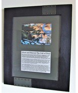 """15"""" X 18"""" Framed Matted Print of Three WWII Aviation Medal of Honor Reci... - $59.35"""