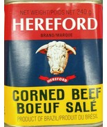 10 Cans Hereford Corned Beef 340g/ 12oz Each Product of Brazil From Cana... - $87.74