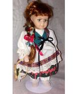 "Hungry Ceramic Doll ""Exclusive Dolls Of The World Hungry 2001"" - $24.99"