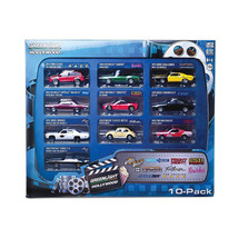 Hollywood 10-Car Collector Case Set Series 1 1/64 Diecast Model Car by G... - $55.04
