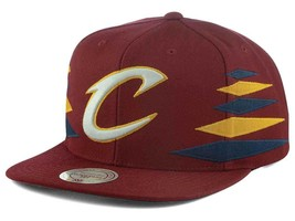Cleveland Cavaliers Mitchell & Ness Solid Diamond Cap Adjustable Snapback