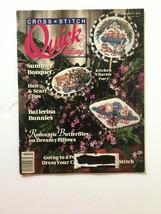 Cross Stitch: Quick & Easy Cross Stitch Magazine June July 1990 - $2.96