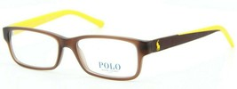 New Polo Ralph Lauren Ph 2132 5507 Brown Eyeglasses Frame Authentic PH2132 53-16 - $121.55