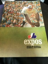 Montreal Expos vs Pittsburgh Pirates 1971 Baseball Program  Unscored CLE... - $29.69