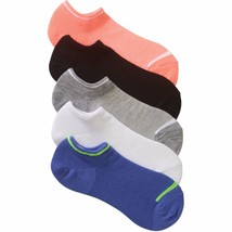 No Boundaries No Show Socks 5 Pair Women's Shoe Size 4-10 Blue  #27 - $9.89