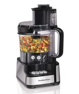 Hamilton Beach 12-Cup Stack and Snap Food Processor 70725A - $87.11