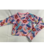 Art Class Large Girls' Rash Guard NWT Swim Shirt Long Sleeve Tropical Fl... - $14.85