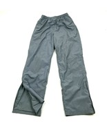 Champion Track Pants Men's Size Small Straight Leg Gray Ripstop Athletic... - $17.83