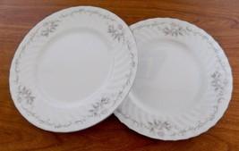 Gold Standard Genuine Porcelain China Luncheon Salad Plates Pink Rose Ja... - $12.86
