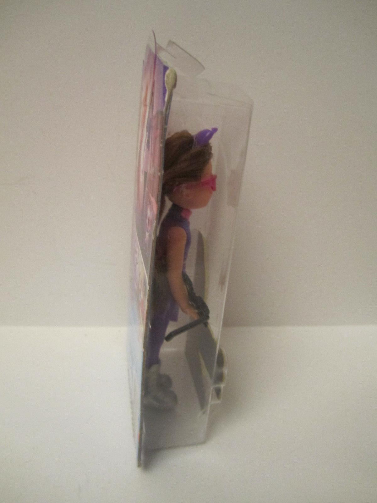 NRFB Barbie Sister Chelsea Barbie Spy Squad Doll Purple 2015 New Brunette Hair image 4