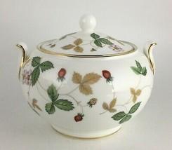 Wedgwood Wild Strawberry Sugar bowl & lid - $35.00