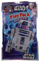 Star Wars Play Pack R2D2 Grab Go Set of 8 Coloring Book Crayons Stickers... - $17.09