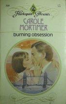 Burning Obsession Mortimer, Carole