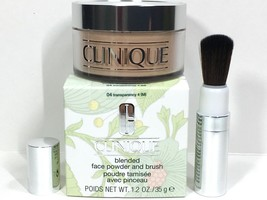 Clinique Blended Face Powder #04 Transparency 4 NIB Expires 09/2022 - $29.50