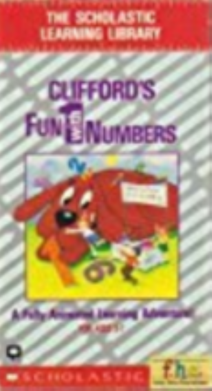 Clifford's Fun with Numbers ( the Scholastic Learning Library) Vhs