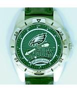 Philadelpha Eagles Men NFL Fossil New Rare Unworn Vintage 1996 Leather W... - $78.06
