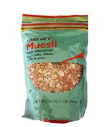 Trader Joes Muesli Made with Whole Grain Oats, Seeds, Fruits & Nuts - $13.85