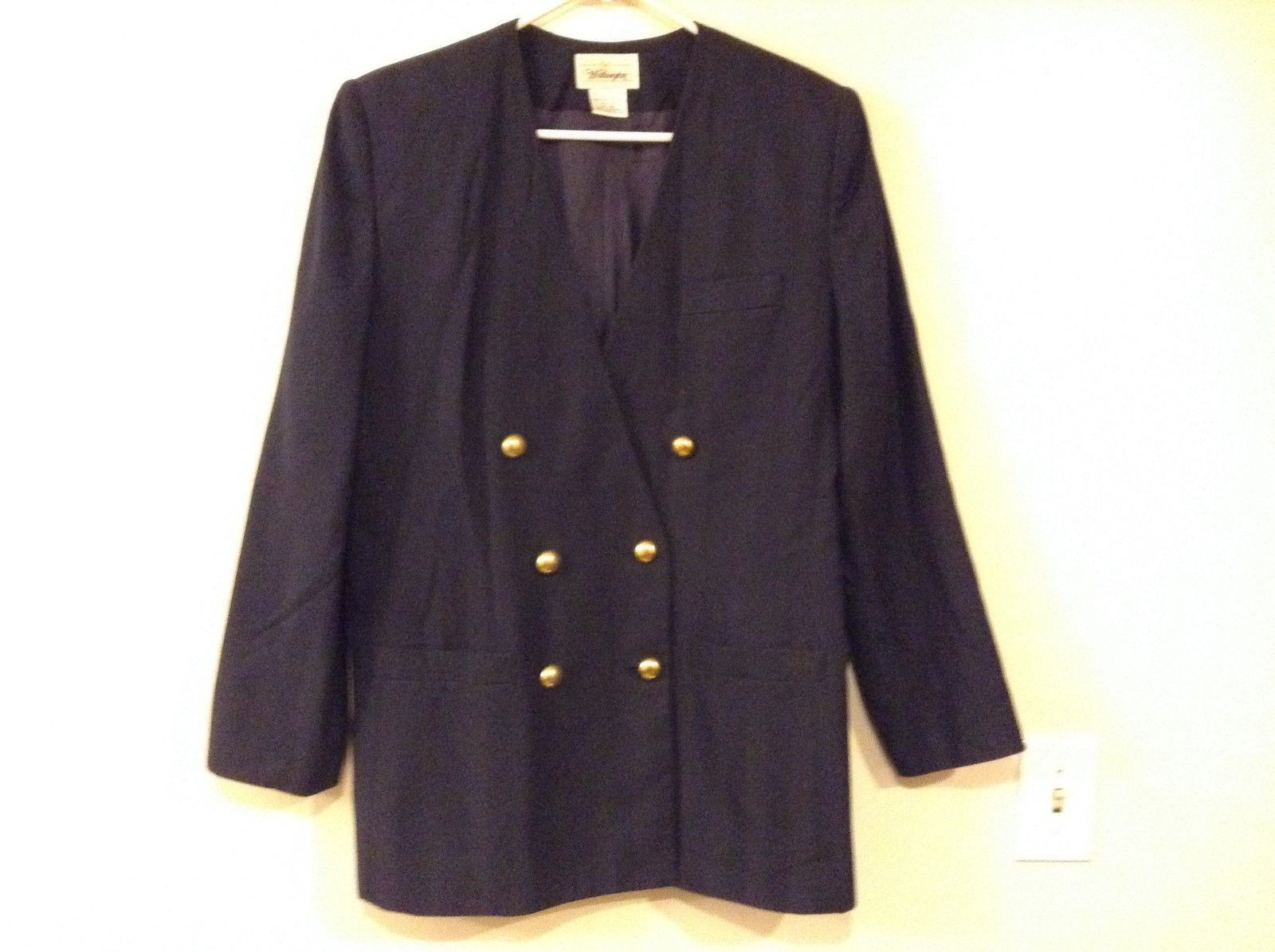 Worthington Navy Blue Blazer Sz 16