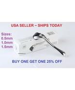 100x Titanium Premium Micro Derma Roller Acne Scars Wrinkles 0.5mm - $427.00