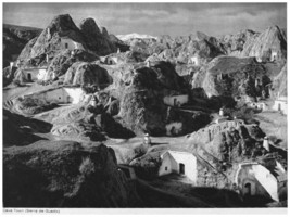 749.B&W Cave Town Wall Art Decoration POSTER.Graphics to decorate home o... - $10.89+