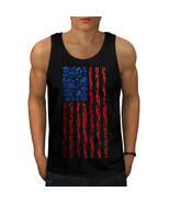 America Flag Grenade USA Tee  Men Tank Top - $12.99
