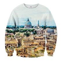 Overview Antique Building Cool Sweatshirt - $36.58