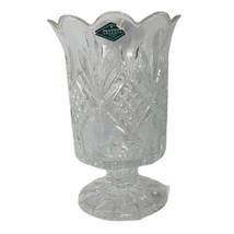 SHANNON LEAD CRYSTAL DESIGN OF IRELAND  Vase/Candleholder - $29.47