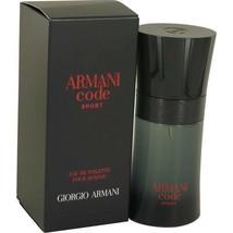 Giorgio Armani Armani Code Sport Cologne 2.5 Oz Eau de Toilette Spray image 2