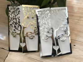 Tree Invitation Cards,50pcs Invitate,Laser Cut Wedding Invitation,Metall... - $53.80