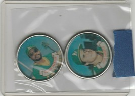 1987 Topps Coins A's Jose Canseco Reggie Jackson - $1.35
