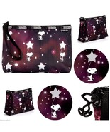 LeSportsac Peanuts Snoopy In The Stars Essential Wristlet Handbag Free S... - $39.56
