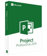 Microsoft Project Professional 2019 Genuine License Key - $28.00