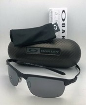 Polarizados Gafas de Sol Oakley Carbón Hoja OO9174-03 Negro Fibra Carbon... - $399.27