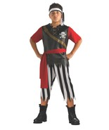 Boys Pirate King Halloween Costume 5-7 Years  - $16.00
