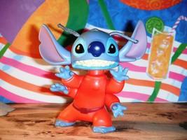 Bobble Alien Dressed Stitch Figurine McDonalds Happy Meal Toy Dollhouse ... - $3.99