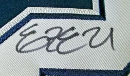 EZEKIEL ELLIOTT / AUTOGRAPHED DALLAS COWBOYS BLUE PRO STYLE FOOTBALL JERSEY COA image 6